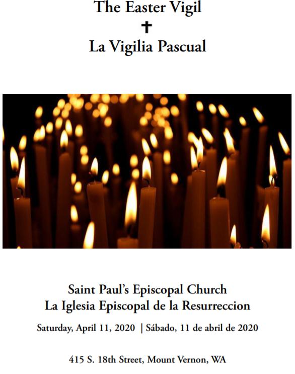 Easter Vigil 2020